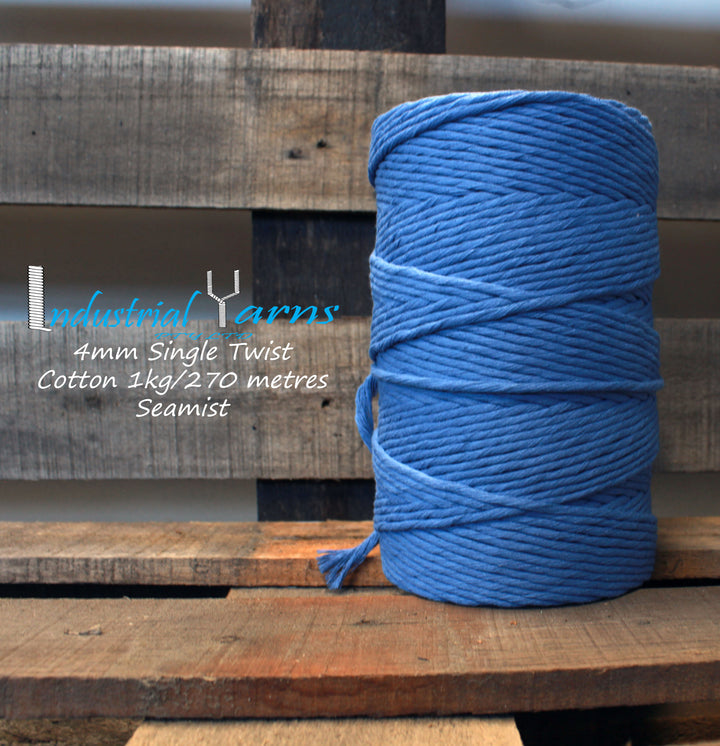 4mm Single Twist Cotton Seamist