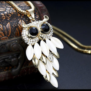 Owl Pendant Rhinestone - Superdeals-Cart