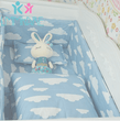 Load image into Gallery viewer, BebBum™ U-Shaped Bed Crib Bumper
