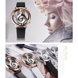 Musical Note Wrist Watch - Superdeals-Cart