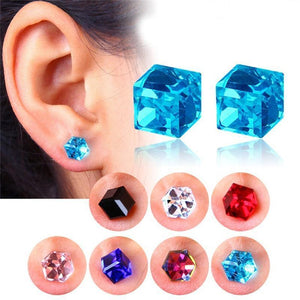 Crystal Magnetic Earrings - Superdeals-Cart
