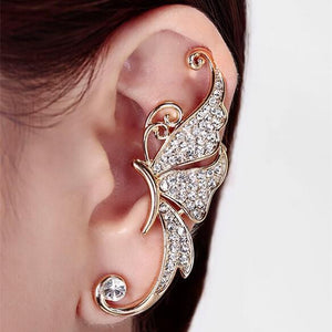 Butterfly Ear Cuff and Matching Earring Stud - Superdeals-Cart
