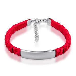 Braided Bracelet with Personalized Engraving - Superdeals-Cart