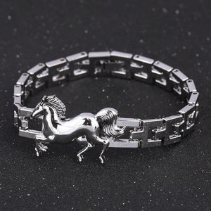 Horse Stainless Steel Bracelet - Superdeals-Cart