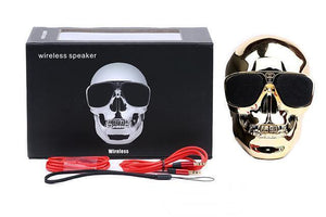 SKULL WIRELESS BLUETOOTH SPEAKER - Superdeals-Cart