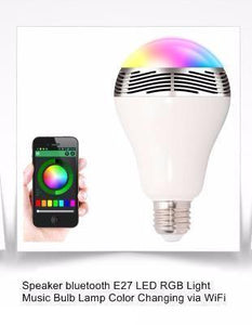 Bluetooth Speaker RGB Lamp - Superdeals-Cart