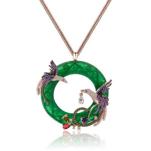 Phoenix Zircon Pendant - Superdeals-Cart