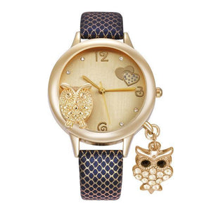 Owl Pendant Quartz Wristwatch - Superdeals-Cart