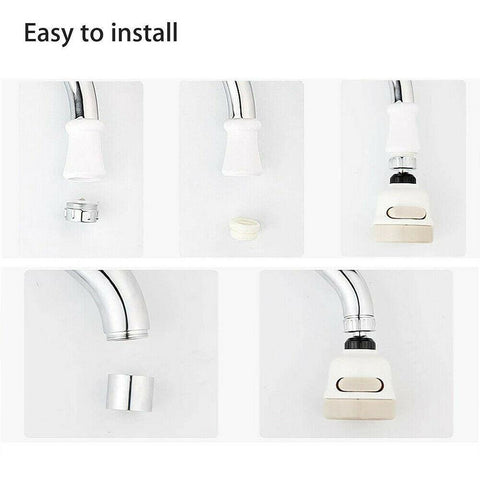 Image of SUPER WATER SAVING 360° ROTATE KITCHEN TAP