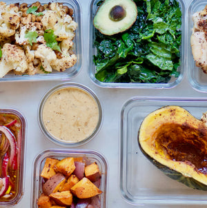 2 Hour Lunch Meal Prep