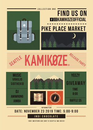 Release Party for Kamikoze Sustainable Fashion