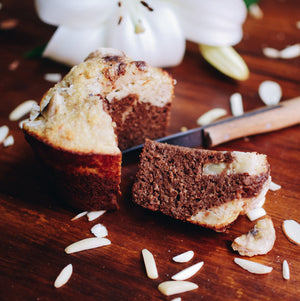 Make mole marble banana bread with indi chocolate spice rubs. Great with cacao nibs too.