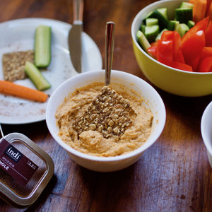 persian eggplant dip with indi chocolate cacao spice rub is easy to make with this recipe