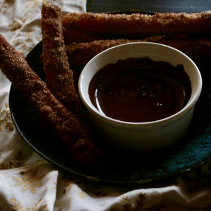 dark chocolate churro mole spice rub