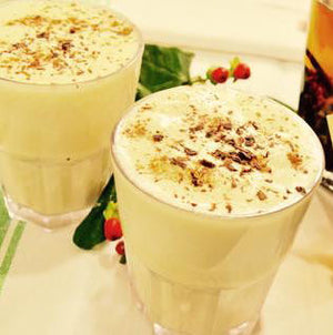 Cacao Infused Egg Nog