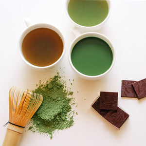 Experience indi chocolate and Sugimoto Tea tastings, including traditional matcha preparation, in Pike Place Market in Seattle