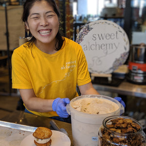 National Ice Cream Sandwich Day Celebration with Sweet Alchemy and Might O Donuts