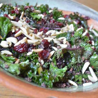 Superfood Salad with Cacao Nibs