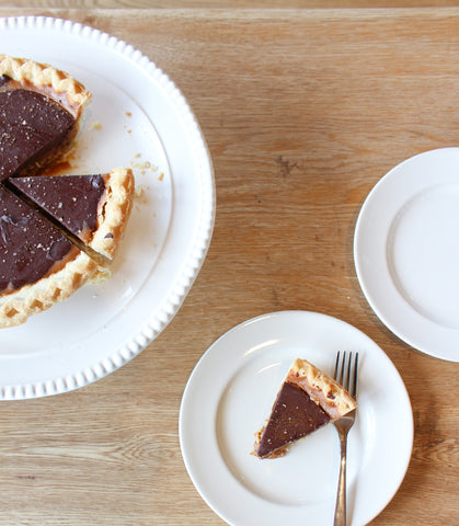 pie tart chocolate