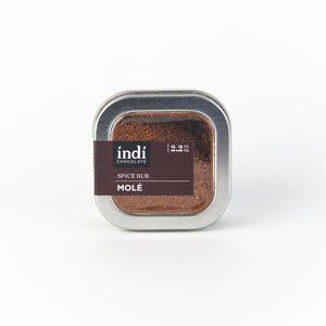 Chocolate Spice Rubs - indi chocolate