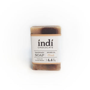 Handmade Chocolate Soap - indi chocolate