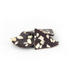 Dark Chocolate with Crystallized Ginger - indi chocolate