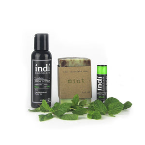 Chocolate Body Care Gift Sets - indi chocolate