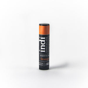 Chocolate Orange Lip Balm - indi chocolate
