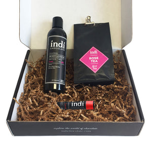 Chocolate Rose Gift Set - indi chocolate