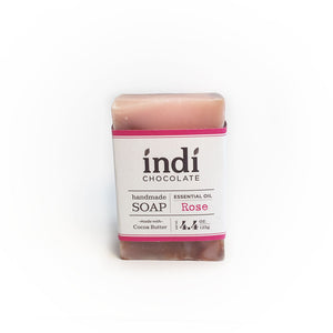 indi chocolate Rose Gift Set includes Rose Soap, as well.