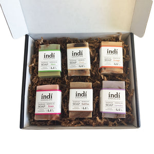 Handmade Chocolate Soap Gift Set - indi chocolate