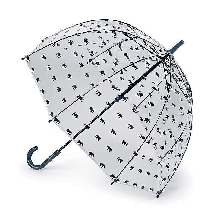 Fulton Birdcage Clear Dome Umbrella - Elephant Parade