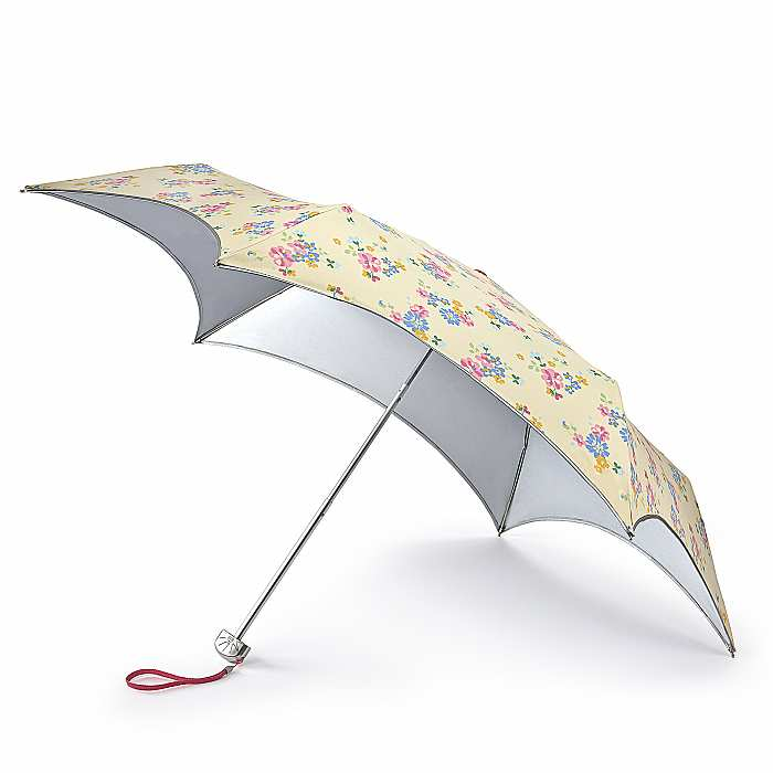 Fulton Parasoleil UV 50+ Protection Travel Umbrella  - Floral Bunch