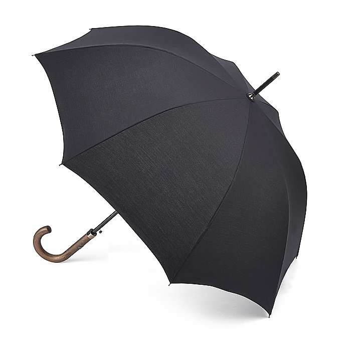 Fulton Mayfair, High Performance, Black, Gents Walking Umbrella