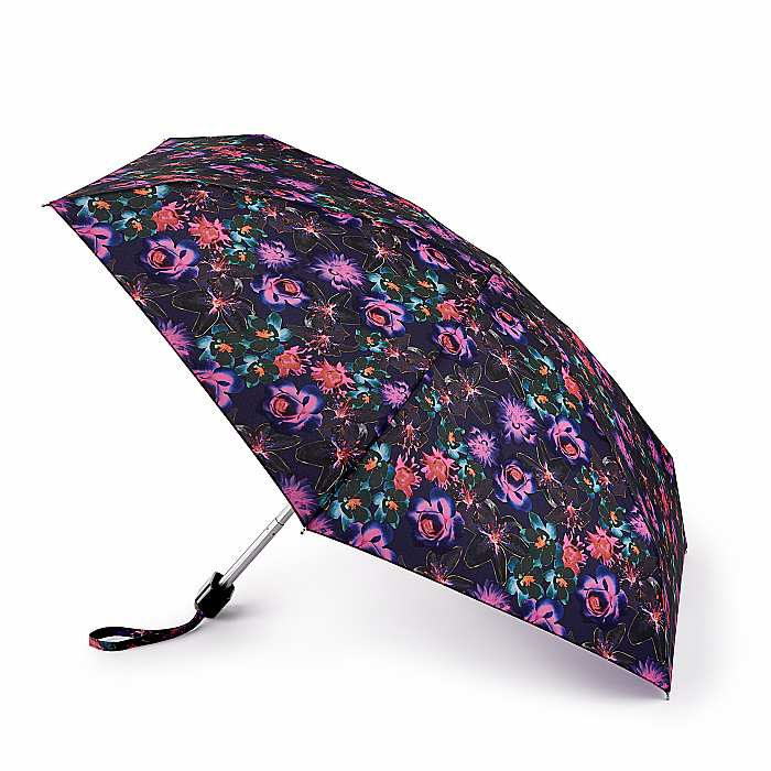 Fulton 'Tiny' Compact Folding Umbrella - Luminous Bloom
