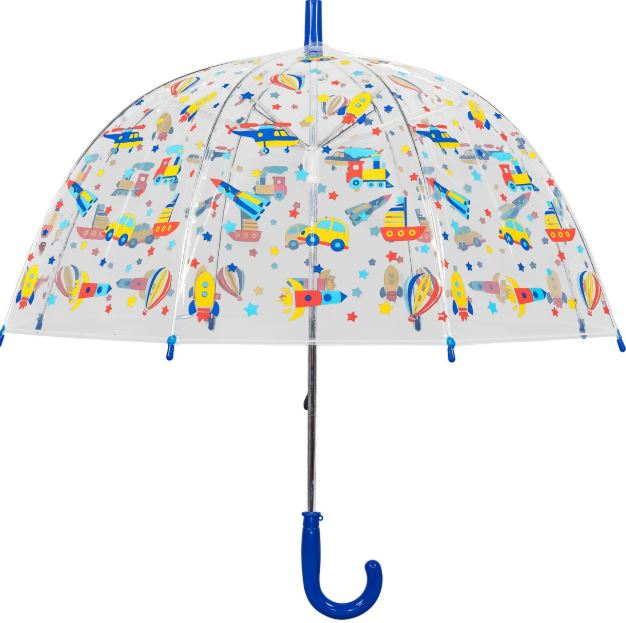 Susino Junior Manual Clear Dome Umbrella - Transport
