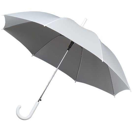 Doppler Auto White Wedding Walking Umbrella