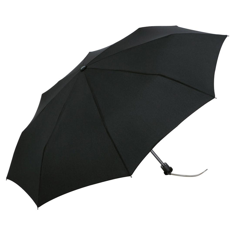 "FARE Clarence ""Mini-Windfighter"" Aluminium Folding Umbrella Black"