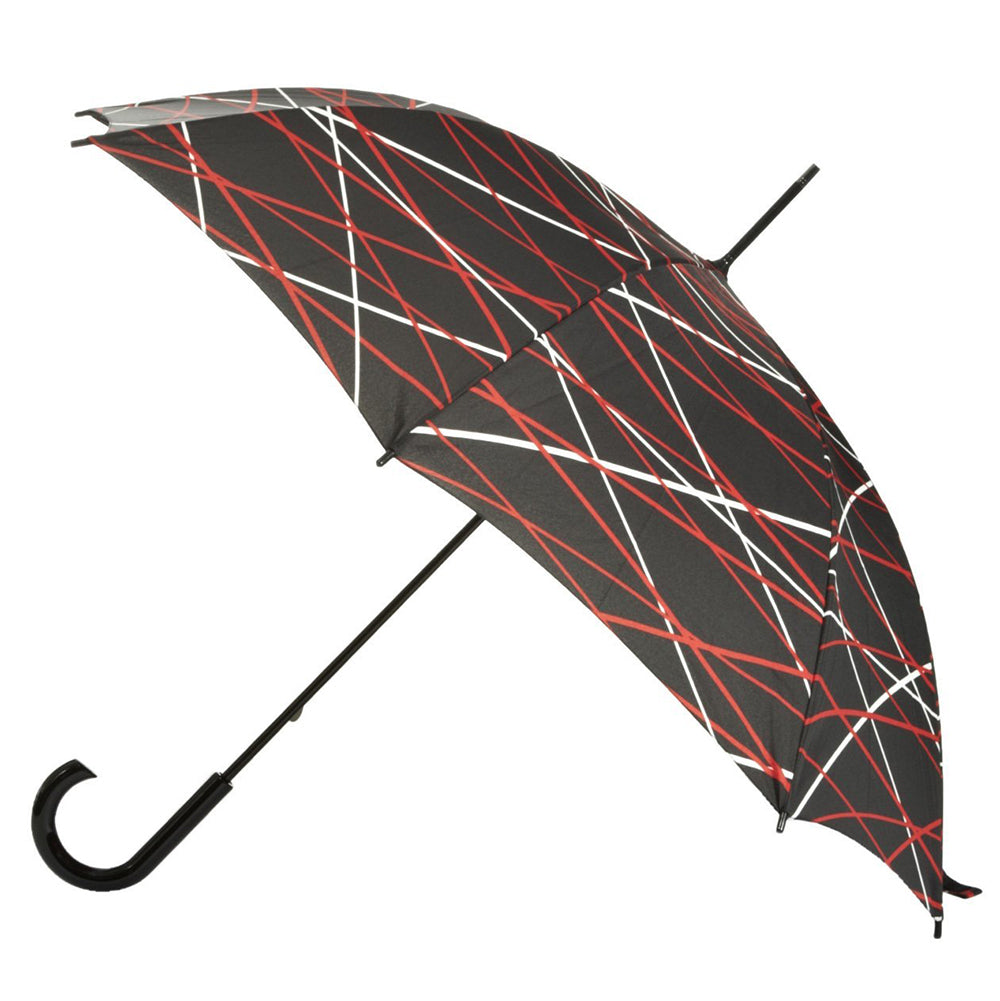 Totes Ladies Walking Umbrella - Criss Cross