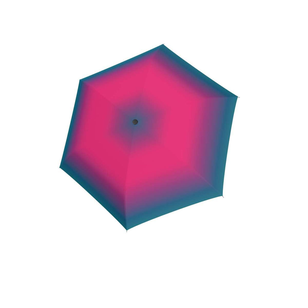 Doppler Havanna Ultralight Folding Umbrella - Spirit Blue Pink