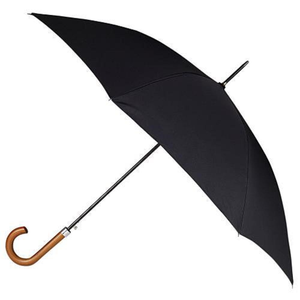 Totes Double Canopy Walking Umbrella - Football Print Underside