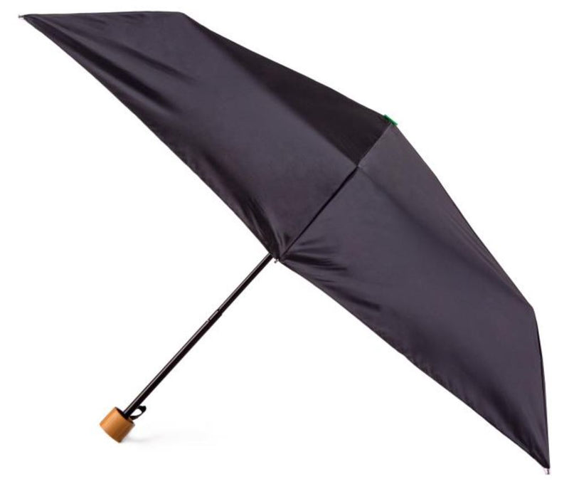 Totes NEW Eco-Brella Black Supermini Umbrella