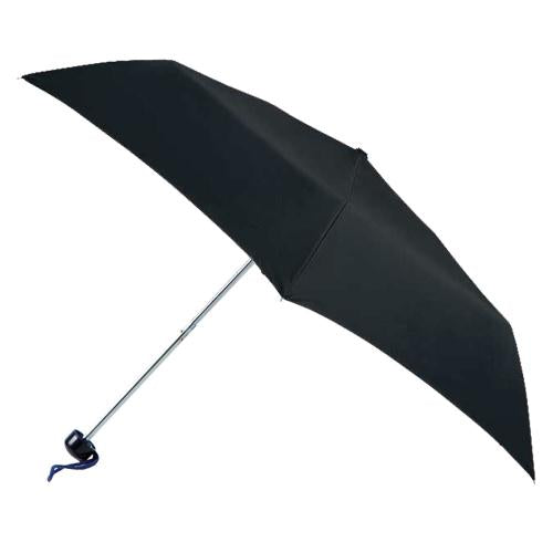 Totes Black Supermini Slimline Umbrella