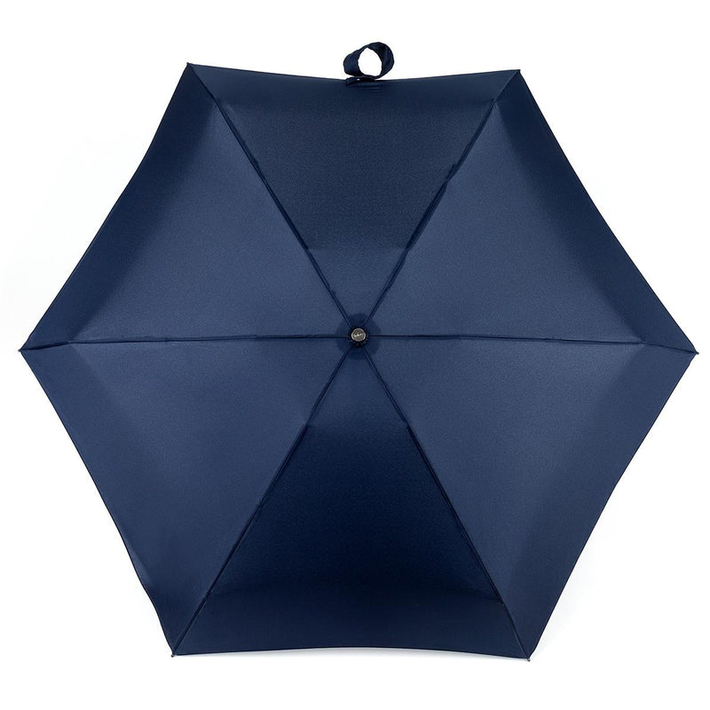 Totes Tiny X-tra Strong 5 Section Folding Umbrella - Navy