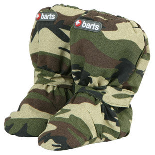 Barts Babies Army Camo Size 74-80 Winter Boots
