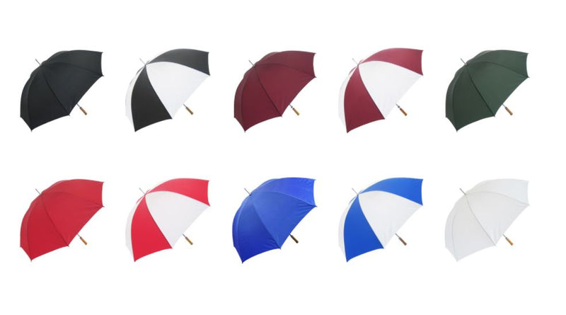 Budget Golf Umbrella - Promo Umbrella in Various Colourways