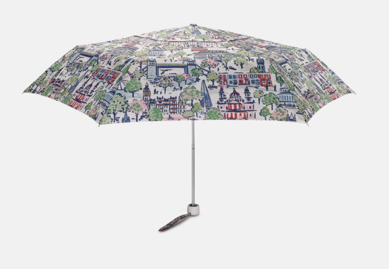 Cath Kidston Minilite 2 Folding Umbrella - London View