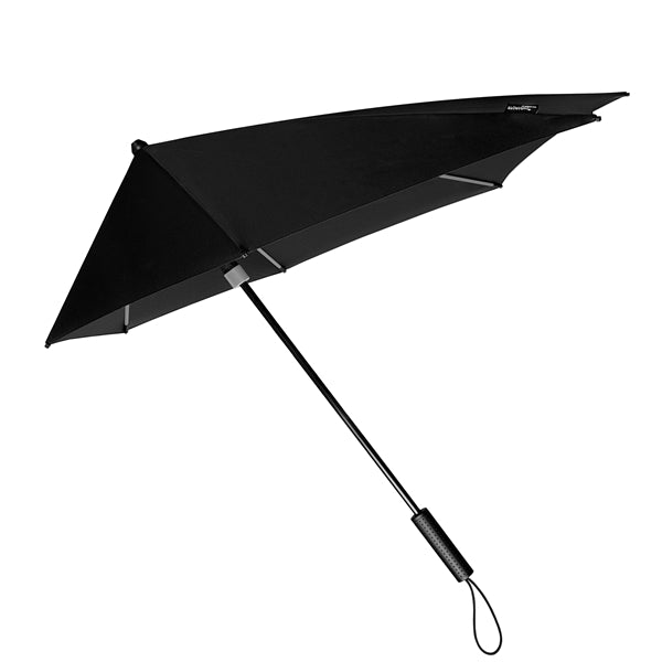 STORMaxi® Storm Umbrella Special Edition Black with Grey Highlights