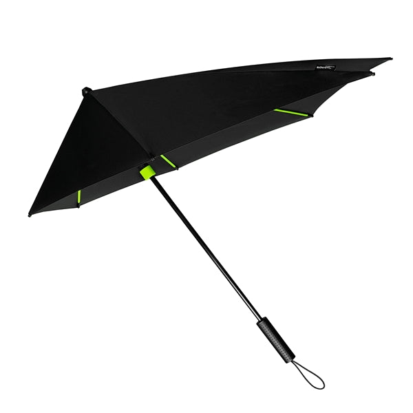 STORMaxi® Storm Umbrella Special Edition Black with Lime Green Highlights