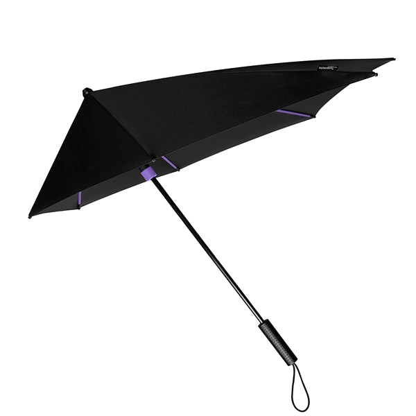 STORMaxi® Storm Umbrella Special Edition Black with Purple Highlights